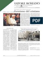 L´OSSERVATORE ROMANO. 19 Febrero 2012