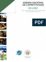 Agenda Nacional de Competitividad Guatemala 2012-2021