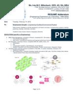 ResumeIntaMitterbachEngineeringExperienceAddendum20120214IMCM-PDF2