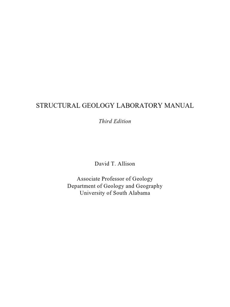 Structural geology lab manual compass structural geology sciox Image collections