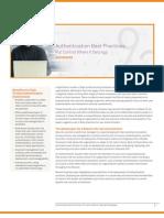Authentication Best Practices WP(en) Web