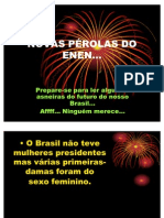 Perolas Do Enem Ppt