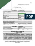 Programa Teoría Económica 2012.1