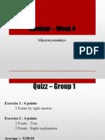 Seminar Week4