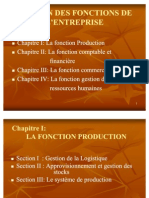 Gestion de La Fonction Production