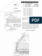 Face-up semiconductor chip assembly (US patent 5852326)