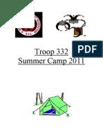 2011 Summer Camp Info