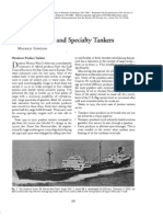Chemical Refined Product Tankers