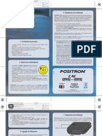 Manual Rastreador Positron RT160