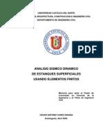 Analisis Sismico Dinamico de Un Tanque