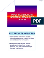Input Transducer