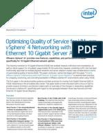 Optimizing Quality of Service for VMWare vSphere40-41