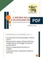 LA VALUTAZIONE E IL MONITORAGGIO DI UN PROCESSO ORGANIZZATIVO [modalità compatibilità]