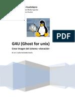 Manual g4u Creacion de Imagen del Sistema -Clonación-