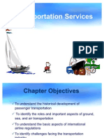 Int Tourism Ch 03 Transportation Services
