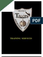 Training 1