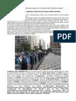 O coração do Brasil parou para ver a Marcha Azul Marinho passar