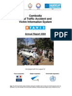 2004 Cambodia Road Traffic Accident and Victim Information System (RTAVIS)