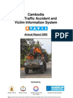 2005 Cambodia Road Traffic Accident and Victim Information System (RTAVIS)