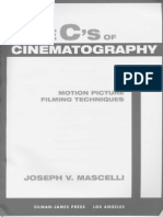 Joseph v. Mascelli - The 5 C's of Cinematography