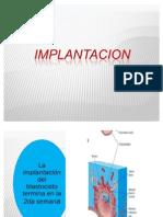 Implantacion y Embrion Bilaminar