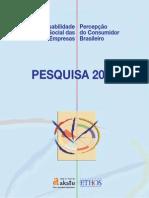 PLANO DE AÇÃO CONSUMO CONSCIENTE