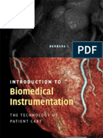 Introduction to Bio Medical Instrumentation the Technology of Patient Care