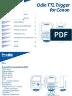 Phottix Odin Instruction Manual