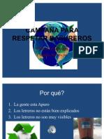Proyecto- Campana Basura