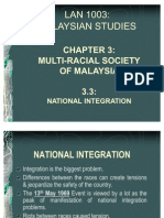 Chapter 3.3 - National Integration