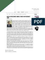 Salvador Gallardo Cabrera Entrevista en El Heraldo