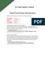ISF申报表格[1]
