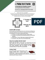 Feb26 Bulletin