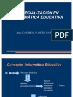 PRESENTACION Informatica Educativa