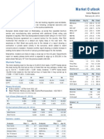 Market Outlook 23rd February 2012
