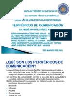 PERIFERICOS  DE COMUNICACION