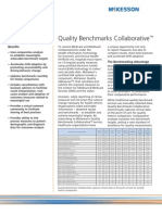 McKesson Enterprise Intelligence - Quality Benchmarks Collaborative