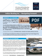 One Sheeter Brochure - CII's International Boating Conference at MIBS 2012