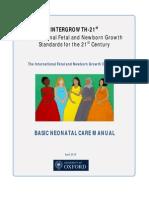 Neonatal Manual Final