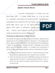 Apache Tomcat Installation Manual