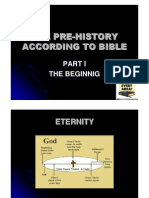 Pre-History According to the Bible