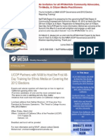 You're Invited to a NAM-UCOP Governance and 2012 Election Reporting Training