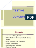 software Testing Concept