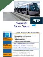 Propuesta Metro Ligero Partido Popular