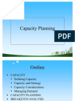 Capacity Planning PPT @ BEC DOMS