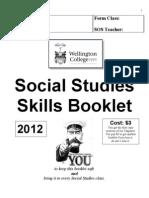 Social Studies Skills Booklet 2012