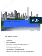 7355964 Risk Analysis Project Finance