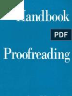 Anderson, Laura Killen - Handbook for Proofreading