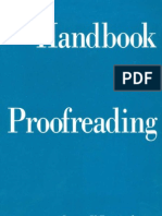 Anderson, Laura Killen - Handbook for Proofreading