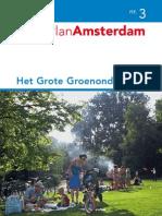 Groen Onderzoek Amsterdam 2008